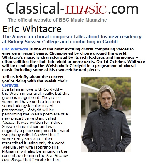 Whitace BBC Classical